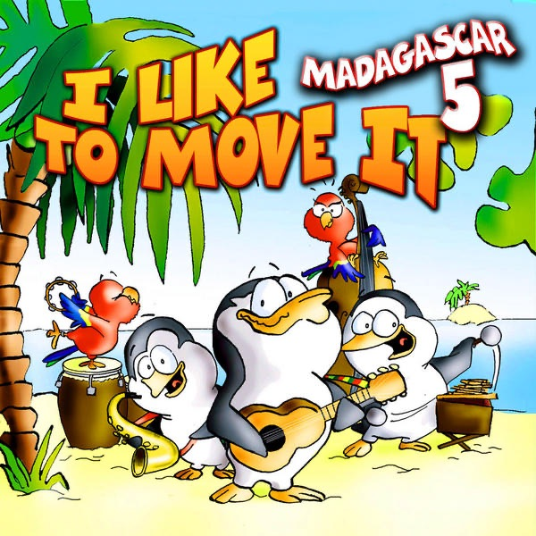 madagascar ringtone i like to move it