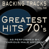 Greatest Hits 70's Vol 59 (Backing Tracks Minus Vocals) - Backing Tracks Minus Vocals