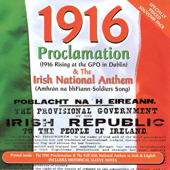 1916 Proclamation (GAELIC Version)