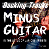 Minus Guitar Various Artists Vol 186 (Backing Tracks)