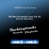 All In Your Mind (Karaoke Version Originally Performed By Mariah Carey)-MIDIFine Systems