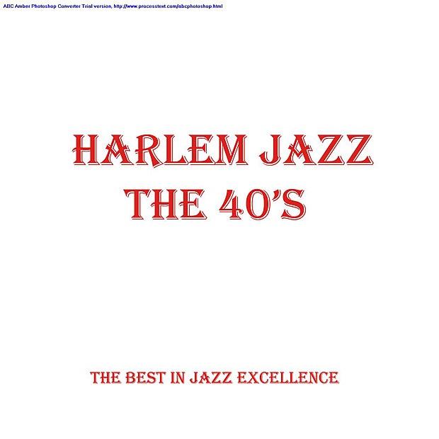 Various Artists - Harlem Jazz - the 40s