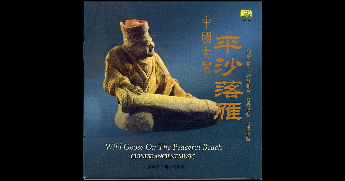 Ancient chinese music wild geese descending on a sandy Cao open source