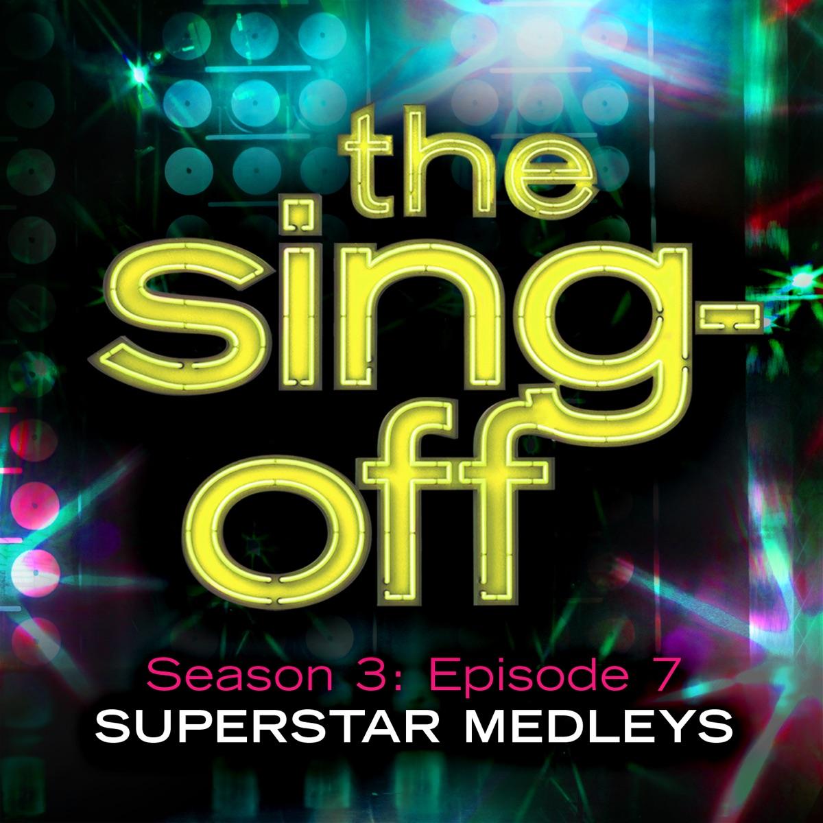 The Sing-Off Season 3 Episode 7 - Superstar Medleys Various Artists CD cover