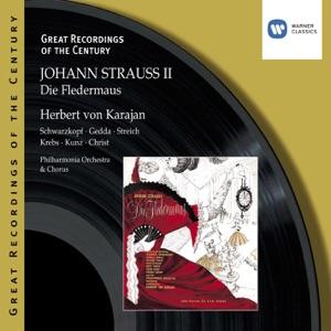 Herbert von Karajan & Philharmonia Orchestra - Die Fledermaus (1999 Digital Remaster), Act III: Ah, der Herr Direktor ist schon da! (Dialogue)