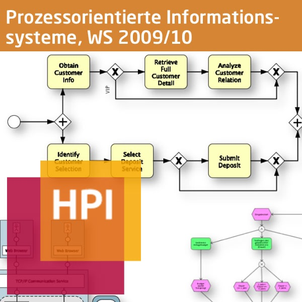 Prozessorientierte Informationssysteme II (WS 2009/10) - Created with tele-TASK - more than video! Powered by Hasso Plattner