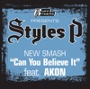 Can You Believe It feat Akon Single