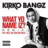 What Yo Name Iz Remix feat Wale Big Sean and Bun B Single