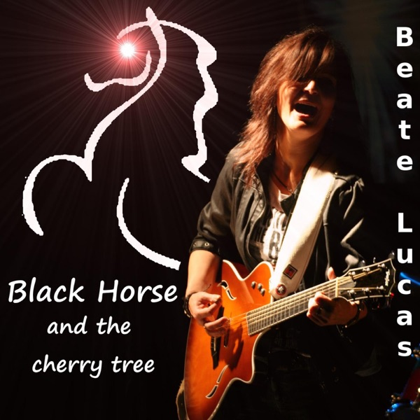 black horse and the cherry tree - 600×600