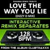 Love the Way You Lie (Rihanna Remix Tribute) [128 Bpm Interactive Remix Separates] - EP, DJ Dizzy