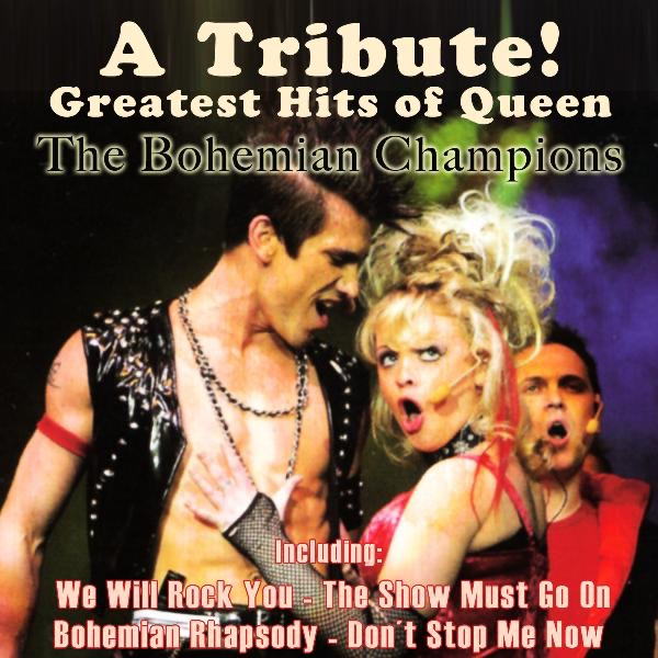 Queen Greatest Hits The Bohemian Champions CD cover
