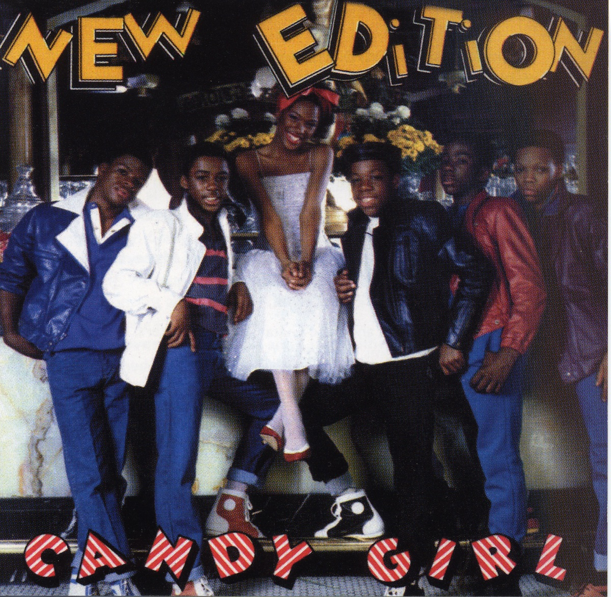 Candy Girl Album Cover By New Edition