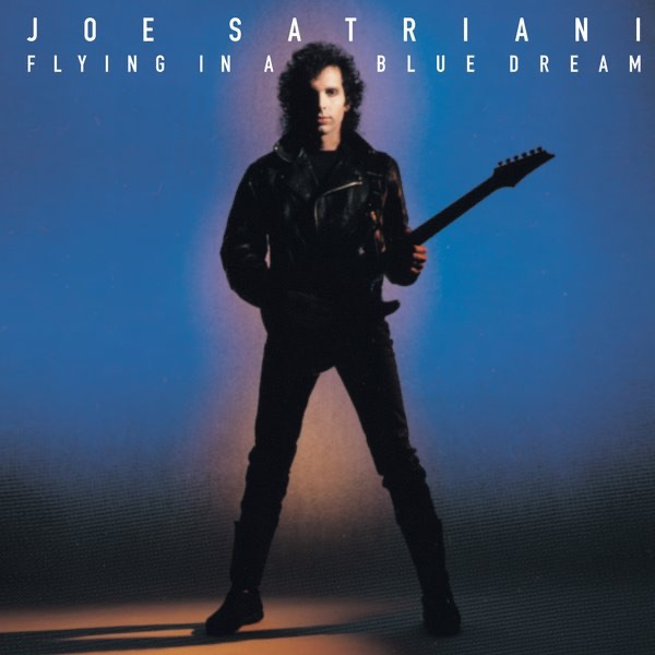 Flying In a Blue Dream Joe Satriani CD cover