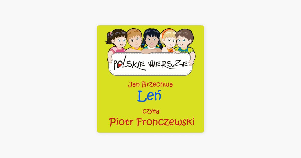 Polskie Wiersze Jan Brzechwa Len Single By Piotr Fronczewski