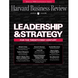 Harvard Business Review, January 2008 - Harvard Business Review mp3 listen download