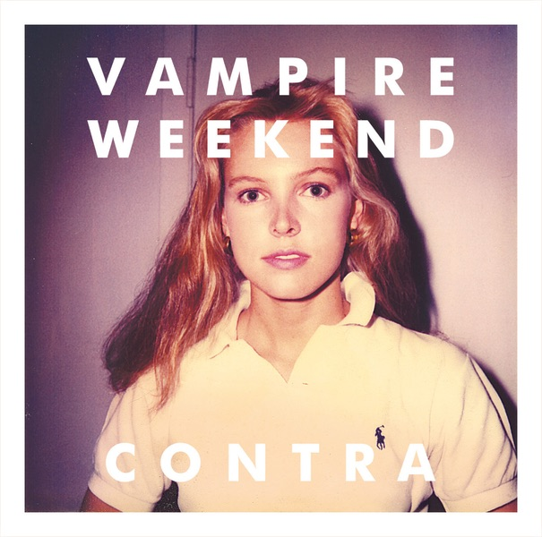 Contra Bonus Track Version Vampire Weekend CD cover