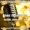 Pro Choice Karaoke - The One (Karaoke Version) [Originally Performed By Elton John] artwork