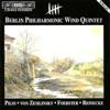 Pilss - Forster - Zemlinsky - Reinecke: Wind Quintets ジャケット写真
