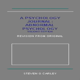 Abnormal Psychology (Unabridged) audiobook