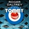10/14/11 Live in Kansas City, MO, Roger Daltrey