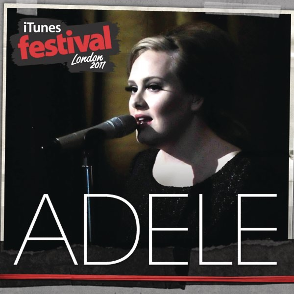 iTunes Festival London 2011 - EP Adele CD cover