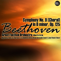 Album: Beethoven Symphony No 9 Choral in D minor Op 125 by Great