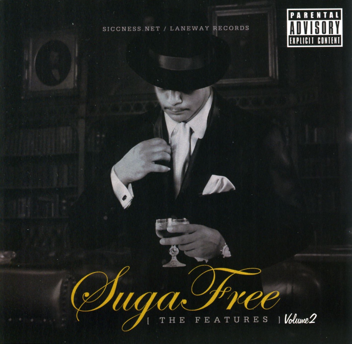 The Features, Vol  2 Album Cover by Suga Free