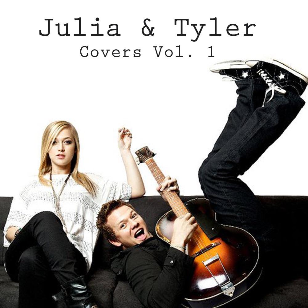 Julia  Tyler Covers Vol1 - EP Julia Sheer  Tyler Ward CD cover