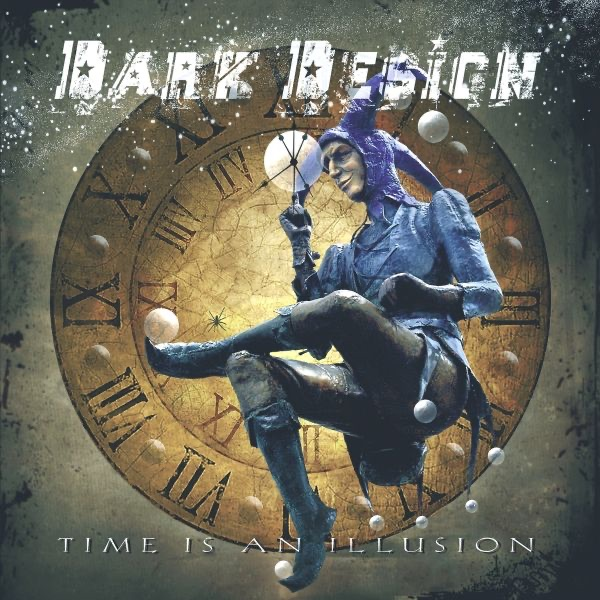 Time Is an Illusion Dark Design CD cover