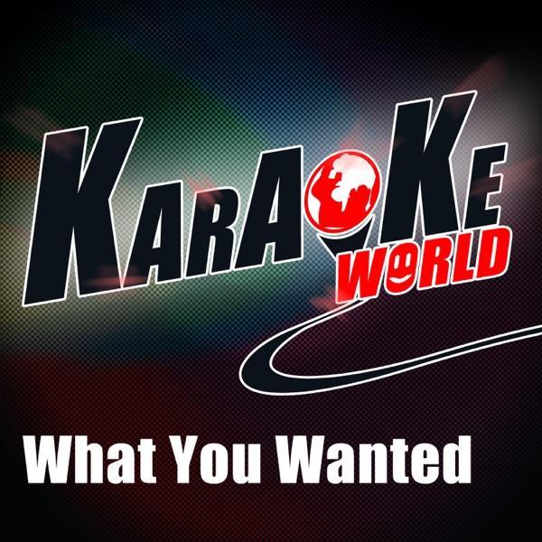 What You Wanted (Originally Performed by Onerepublic) [Karaoke Version] - Single
