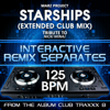 Marz Project - Starships (125 BPM Instrumental Mix) artwork
