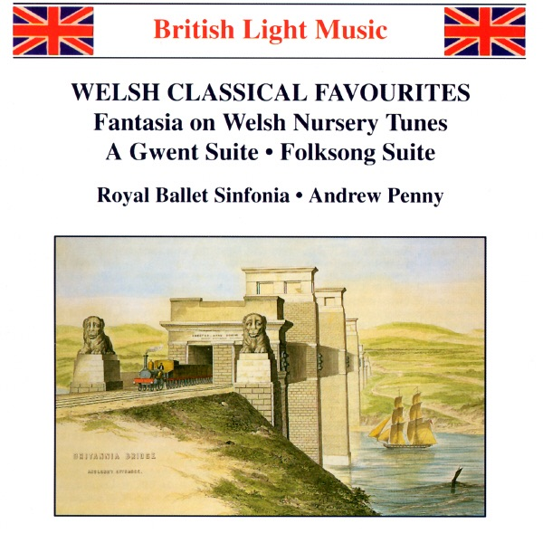Welsh Classical Favourites Andrew Penny  Royal Ballet Sinfonia CD cover