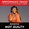 Not Guilty Performance Tracks EP