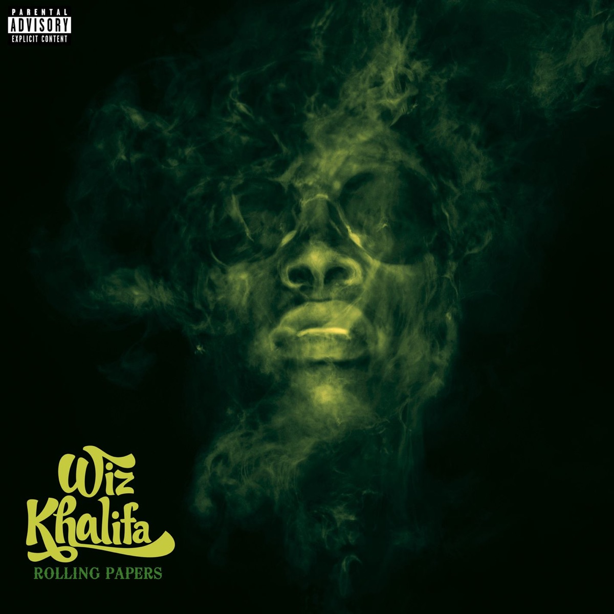 Rolling Papers Wiz Khalifa CD cover