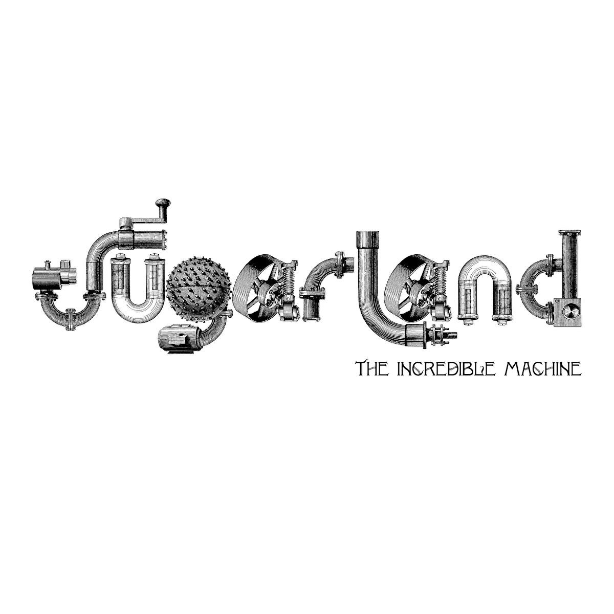 The Incredible Machine Sugarland CD cover