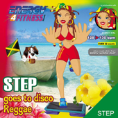 Step Goes to Disco Reggae (128-130 BPM Non-Stop Workout Mix) (32-Count Phrased Instructor Mix)