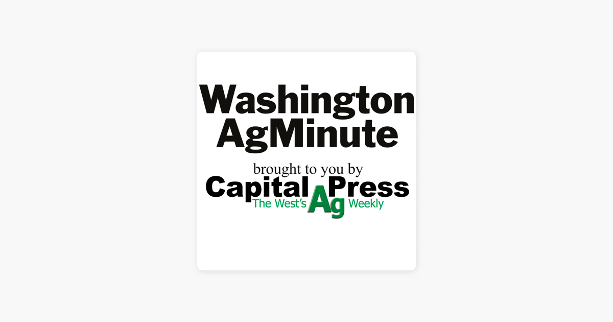 Washington state AgMinute: Water managers respond to