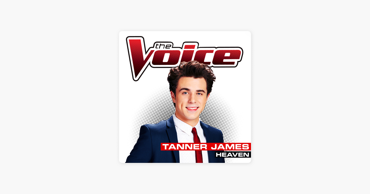 tanner james the voice