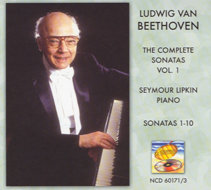 Beethoven Complete Piano Sonatas Vol 1 Seymour Lipkin CD cover