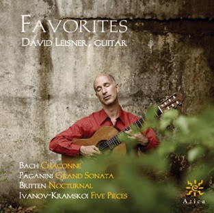 Favorites by David Leisner for the Classical guitar