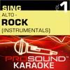 Sing Alto Rock, Vol. 1 (Karaoke Performance Tracks)
