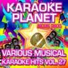 Various Musical Karaoke Hits, Vol. 27 - Karaoke Planet ジャケット写真