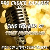 When Somebody Loves You Back (Karaoke Version) [Originally Performed By Teddy Pendergrass]