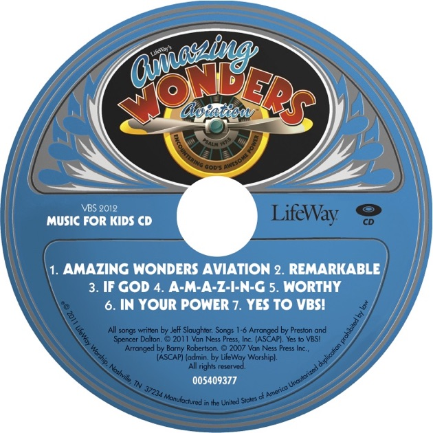 LifeWay Kids Worship: VBS 2012 Amazing Wonders Aviation ...