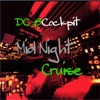 ダグラスDC-8コックピット 夜間飛行 赤道を越えてニューカレドニアヘ