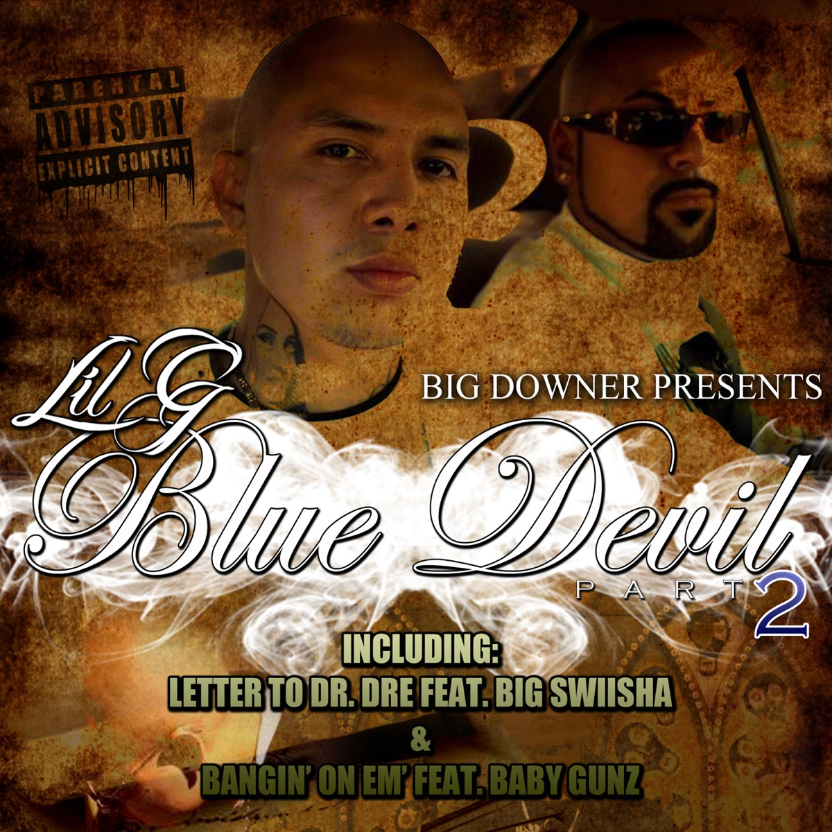 Blue Devil Part 2 Album Cover by King Lil G