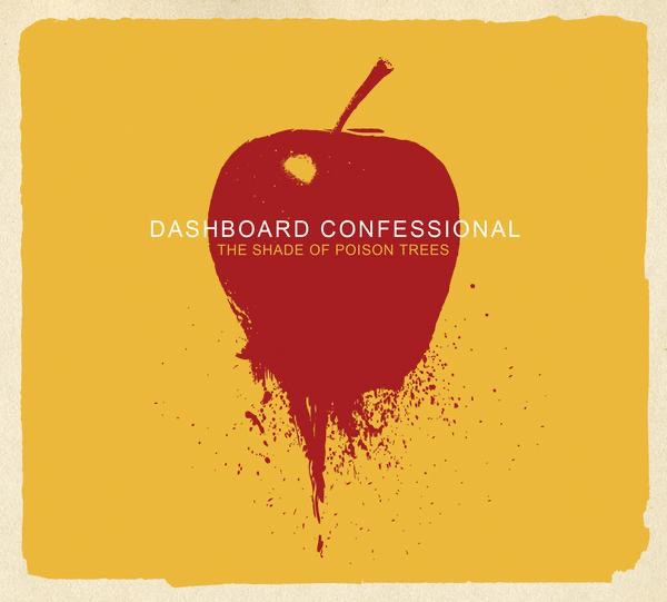 The Shade of Poison Trees Dashboard Confessional CD cover