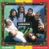 Gondwana - Verde, Amarillo Y Rojo ilustración