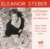 Eleanor Steber, Soprano - Edwin Betcliffe, Piano