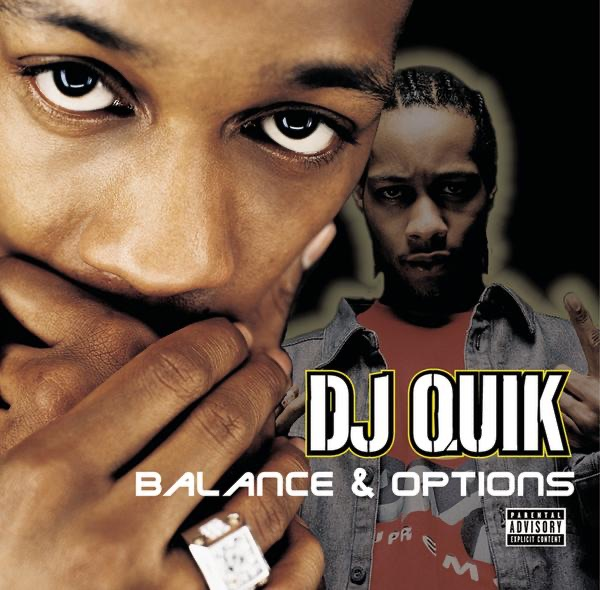 Balances  Options DJ Quik CD cover